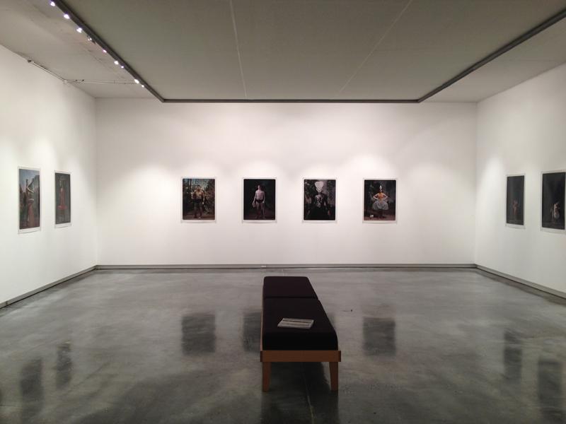 Helen Gory Galerie installation, April, 2012