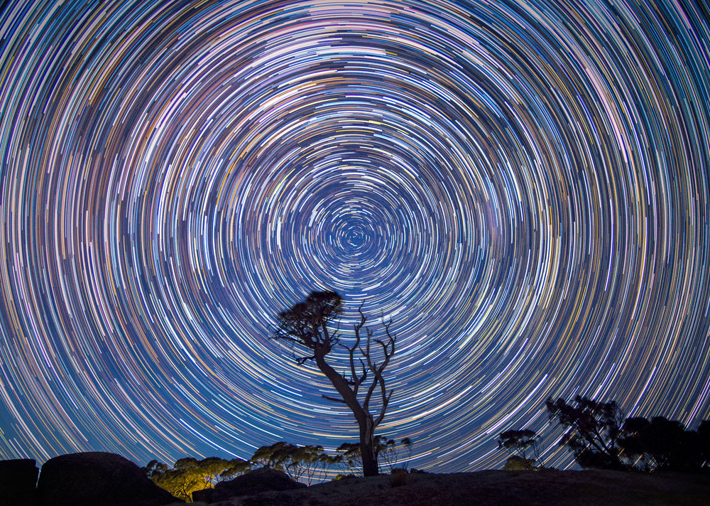 Bay of Fires Star Trail