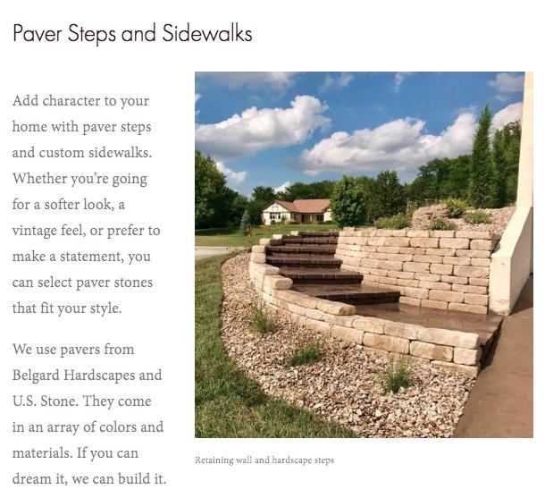 Grounded-Landscape-Paver-Steps-and-Sidewalks-Writing-Sample