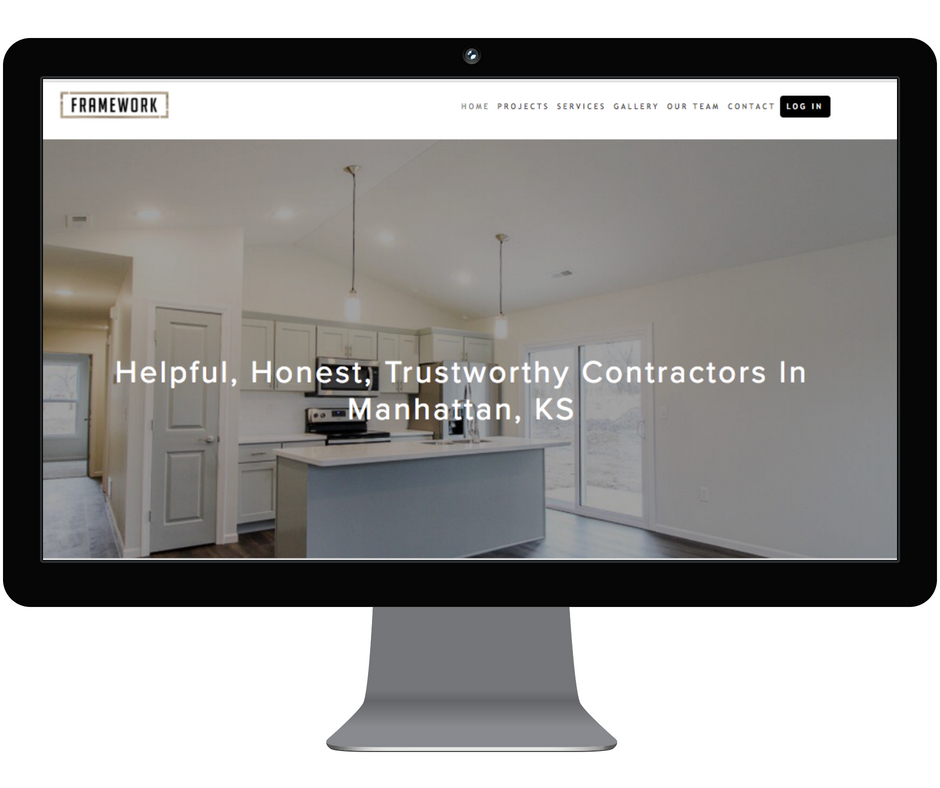 Website Content for Construction Company - Framework | Manhattan, KS