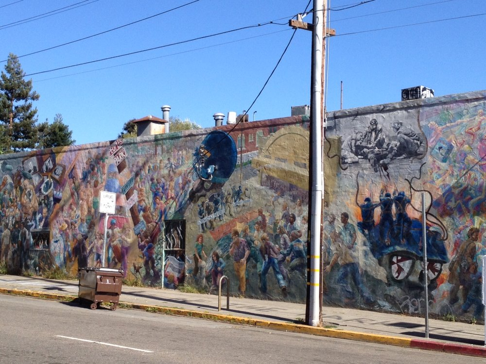 Restoration of A People's History of Telegraph Avenue (Berkeley, CA)