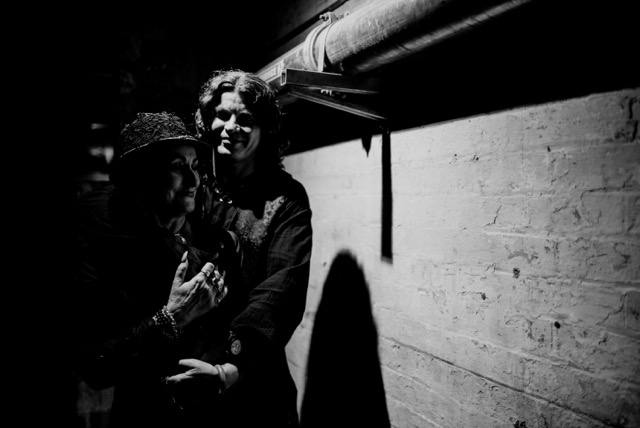 Salara and her lovely man, Markus - Photo by Morgan Roberts Photography