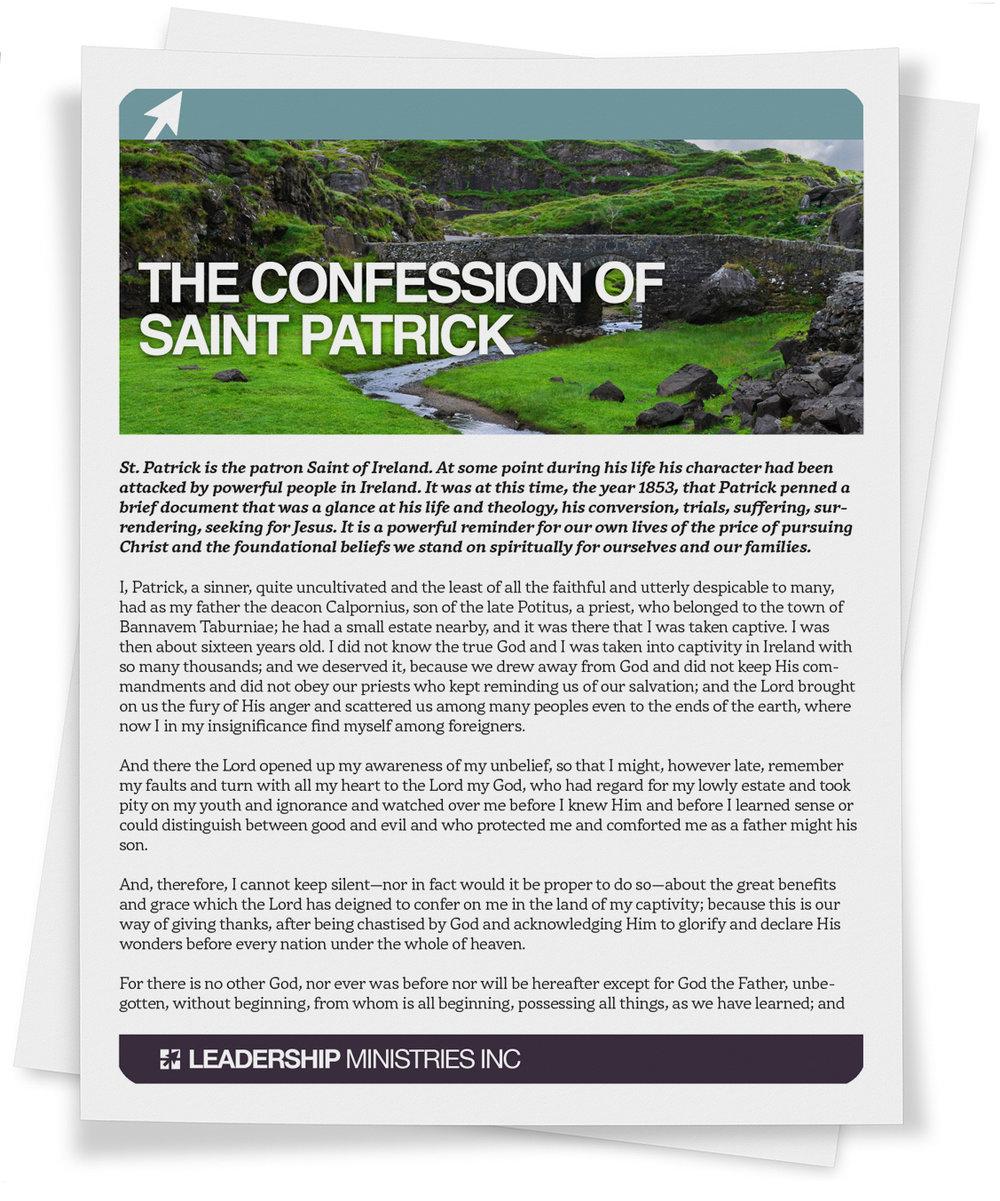 Confession of St. Patrick