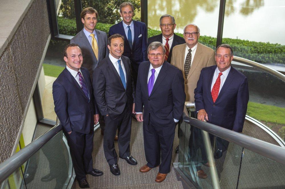 Advisory Board:  left to right – Matt Kreis, Bobby Norwood, Brian Ranck, Bob Day, Mike Hunter, Ralph Rowland, Doug Chrietzberg and Jeff Muir (not pictured: Ryan Grant, Jeff Shaw and Bob Voyles).