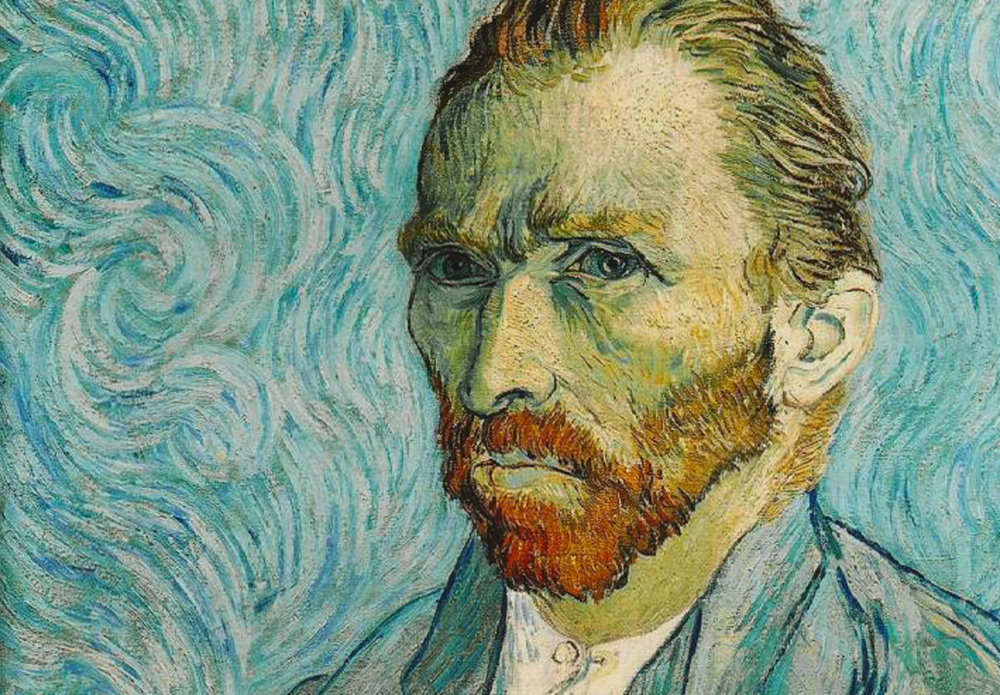 Van Gogh dealt with depression until his untimely death at age 37.