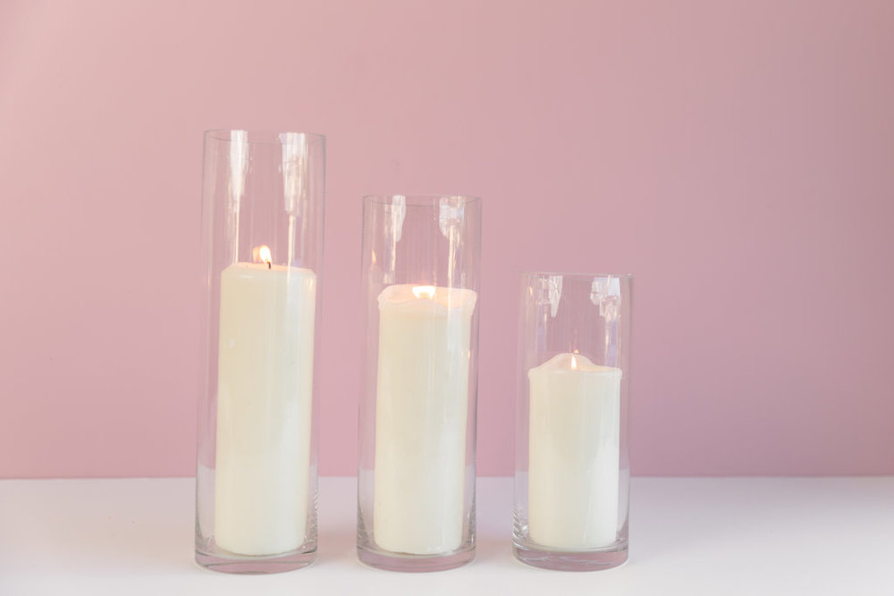 Pillar Candle Clusters  $22.50 (per set of 3)