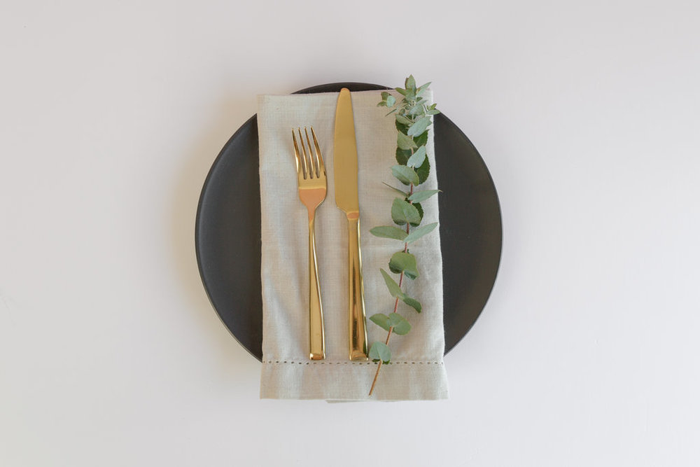 Linen Napkins  $1.50 each - available in a variety of colours