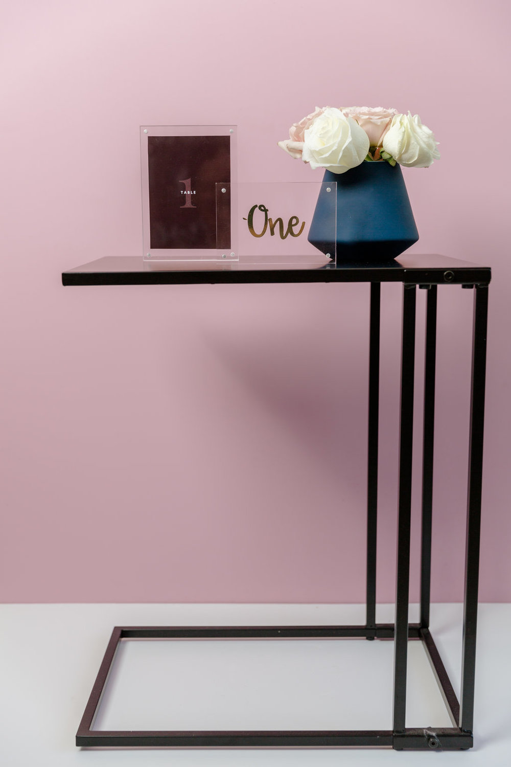 Black Side Table  $12 each -2 available