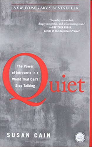Quiet   At least one-third of the people we know are introverts. They are the ones who prefer listening to speaking; who innovate and create but dislike self-promotion; who favor working on their own over working in teams. It is to introverts—Rosa Parks, Chopin, Dr. Seuss, Steve Wozniak—that we owe many of the great contributions to society.  In  Quiet, Susan Cain argues that we dramatically undervalue introverts and shows how much we lose in doing so.Passionately argued, superbly researched, and filled with indelible stories of real people, Quiet  has the power to permanently change how we see introverts and, equally important, how they see themselves.