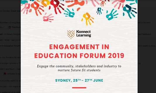 Engagement in Education Forum 2019 — Future Fit Families