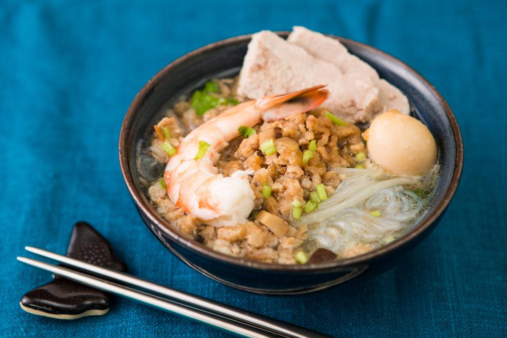 台湾観光情報サイト おうちで本格台湾料理『第二回目・擔仔麵(担仔麺)』