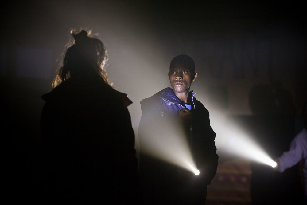 John Pfumojena (Okot) in The Jungle at the Young Vic © David Sandison.jpg