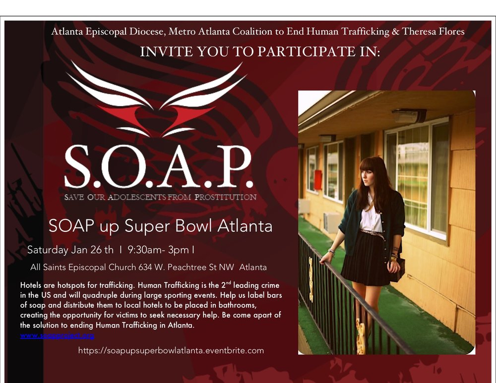S.O.A.P. Volunteer           registration  - https://www.eventbrite.com/e/soap-up-atlanta-tickets-45952049818