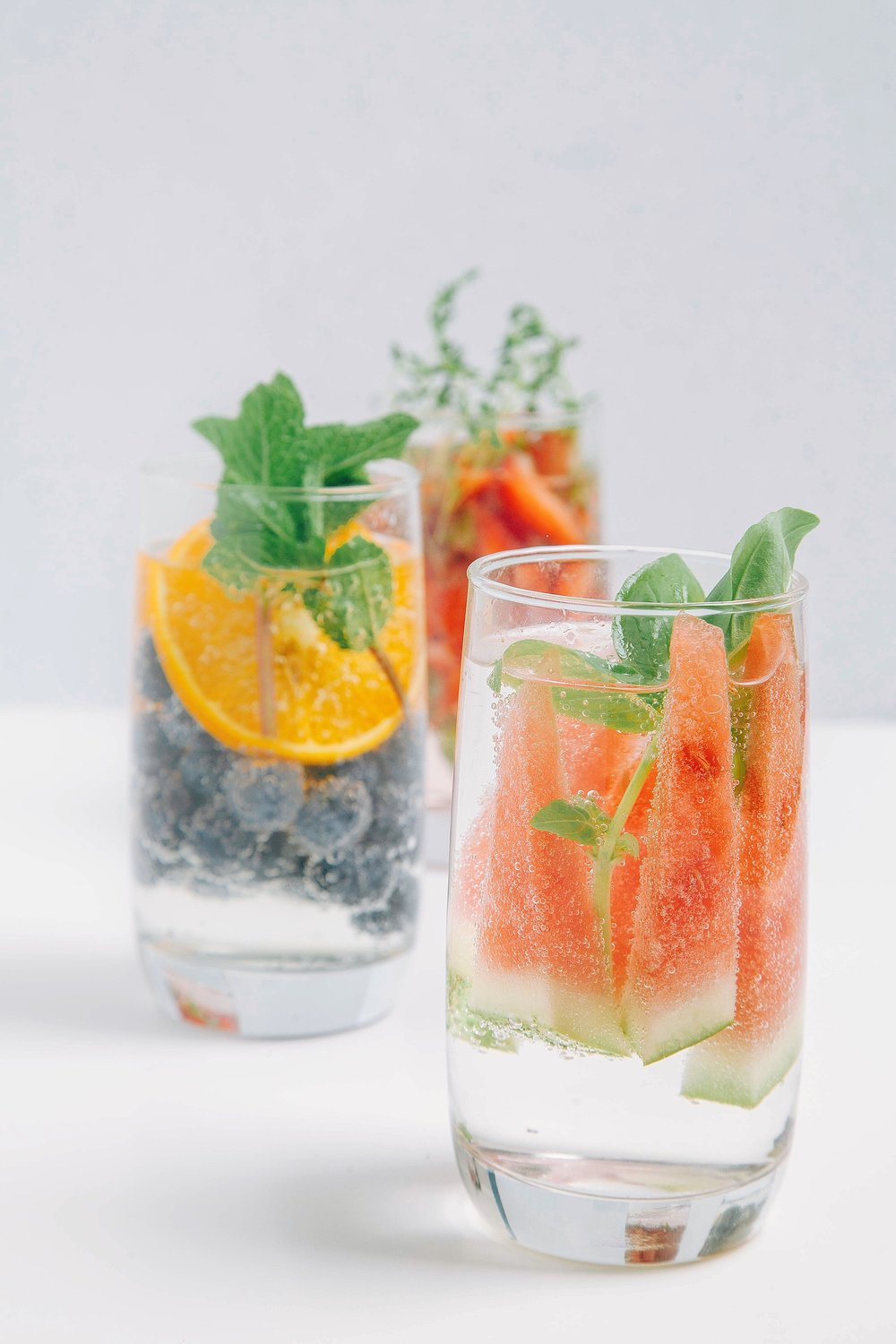 You won't go hungry, as infused water is not meant to displace the food you would normally eat, but rather supplement it. -