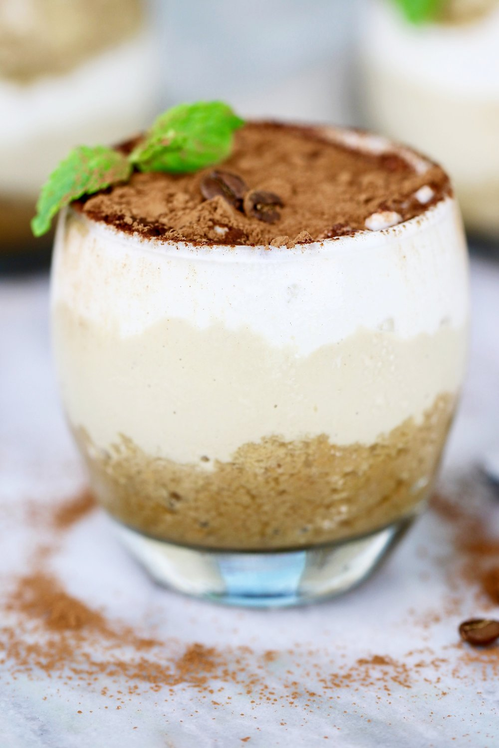 - Just as good as the real thing, this succulent vegan, gluten-free, and paleo-friendly tiramisu makes 5-6 servings.