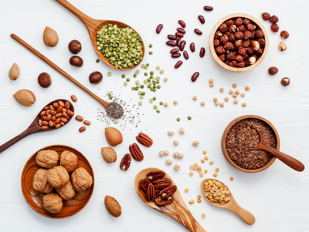 """in plant foods, the highest contents of melatonin was found in nuts."" -"