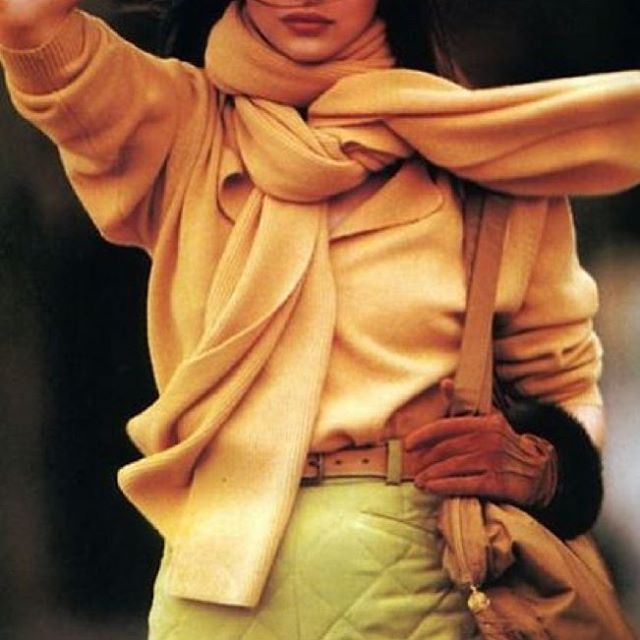 Colour combo :Lime+soft yellow 👌🏽, US Vogue, 1989 via @sculpting__in__time tumblr . . . . . . . . . . . #slowfashion #vintagefashion #sustainablefashion #ethicalclothing #consciousfashion #madetoorder #handmade #vintageinspired #vogueus #smallbusiness #ethicallymade #ethicallysourced #ethicallyproduced