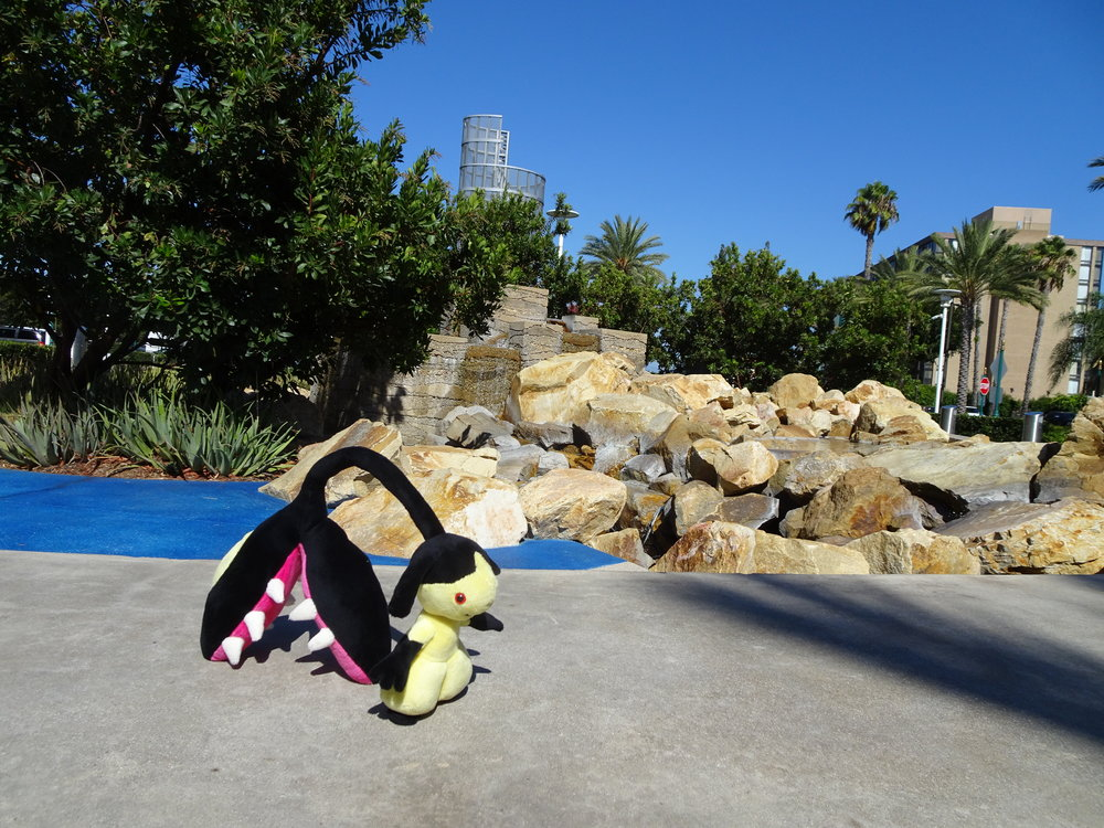 Mawile chilling out in the Anaheim sun!