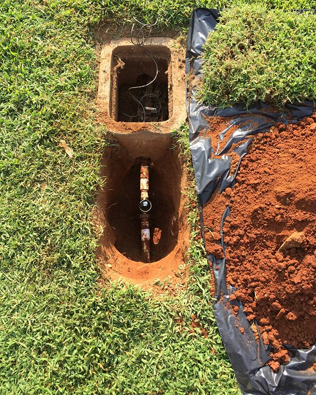 Is your water pressure to high? To low? You may have a bad pressure regulator. If it has to be dug up, our goal is to leave your yard as good as we found it. #plumbing #huntsville