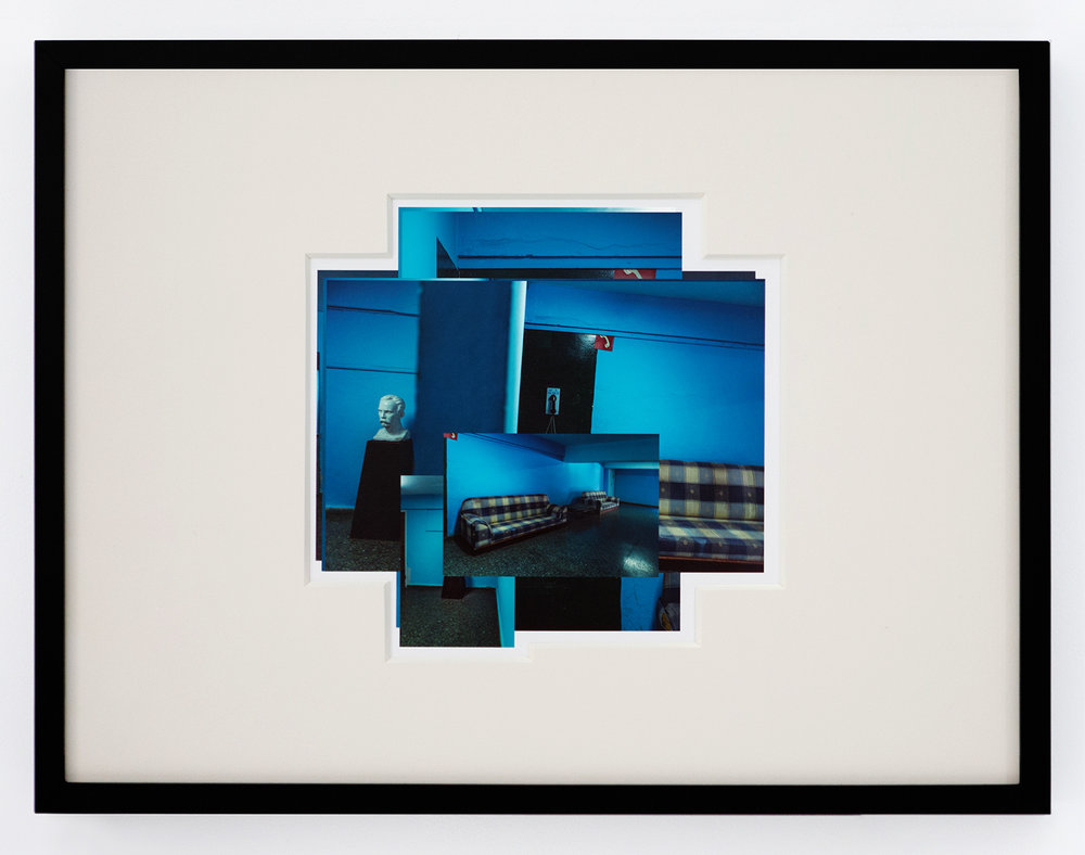 Blue , 2017 Archival cotton print with museum glass 24 x 18 inches Edition 1 of 7, 2 AP