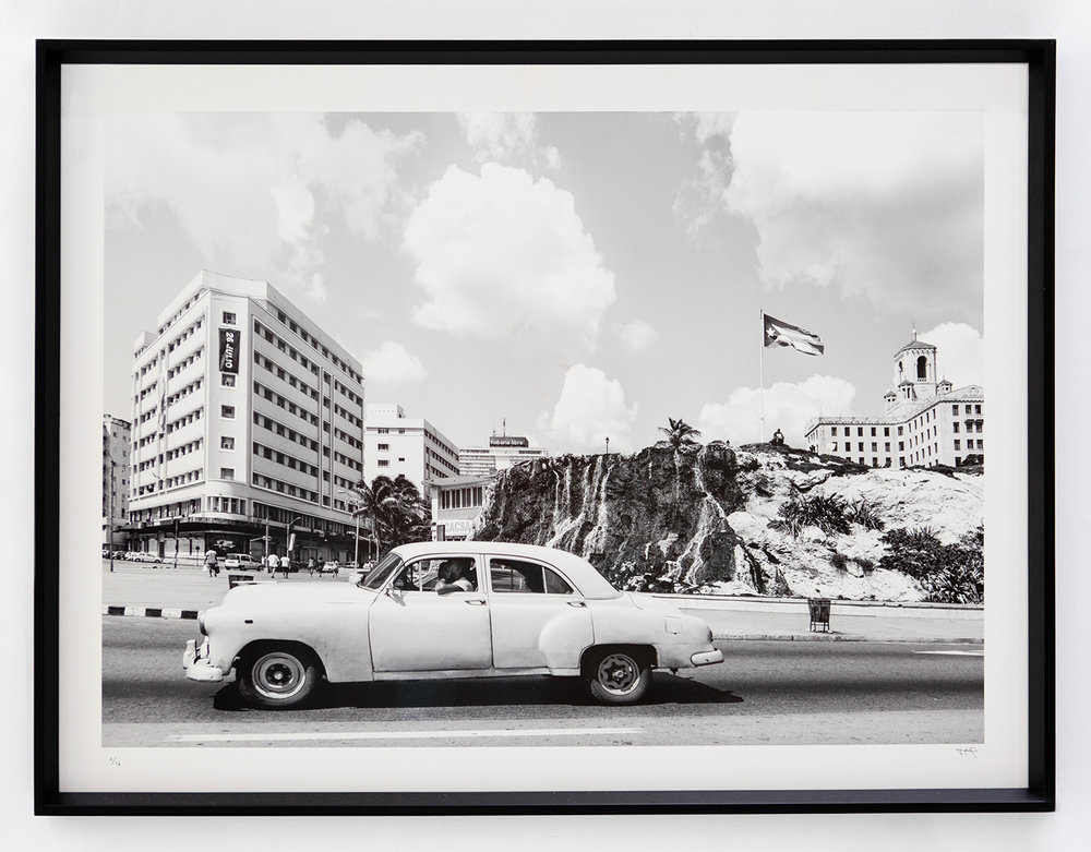 On the Road , 2017 Archival cotton print with museum glass 40 x 30 inches Edition 2 of 16, 2 AP