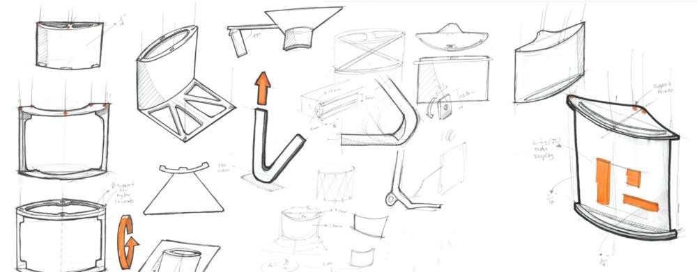 Curved Hologram structure design - 2016