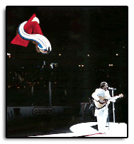 Playing the National Anthem at the Colorado Avalanche Games during the finals of the Stanley Cup in 1996. The Avalanche Won!