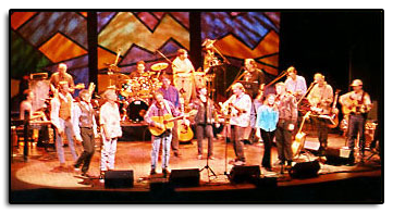 Take Me Home Country Roads Jim joined with friends and former band members for the 4th Annual John Denver Tribute Concerts at the Wheeler Opera House in Aspen Colorado in 2001. ( Photo by Kollene Sublette )
