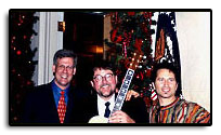 On December 21, 2002 Jim was honored to perform at the White House. Joining him for the performances were Tony Snow and Chris Nole.