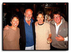 Hangin' out after the 7th Annual John Denver Tribute Shows in Aspen Colorado with friends Chris Nole, Noel Paul Stookey and Pete Huttlinger.