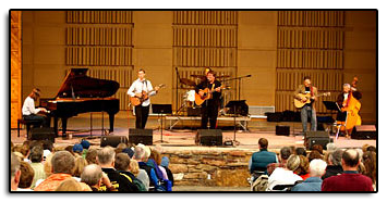 On July 3,2006 Jim and his friends performed to a sold out audience at the Breckenridge Riverwalk Center. Joining Jim for the concert was Eric Moon on keyboard, James Salestrom on guitar and vocals, Dave Heck on drums, Pete Huttlinger on lead guitar and vocals and Rich Lamb on bass.