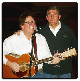 The Governor of West Virginia, Joe Manchin, joined Jim to sing  Take Me Home Country Roads , in Big Sky Montana on March 28th, 2009.