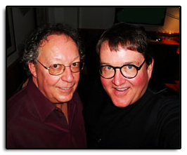 "Hangin' out with Bill Danoff backstage in Aspen Colorado during the 12th Annual John Denver Tribute Concerts. Bill Danoff wrote ""Take Me Country Roads""."