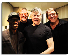 Jim attended the Steve Miller concert at the Ryman Auditorium in Nashville Tennessee, and after the show was hangin' backstage with Keb Mo, John Jorgenson and Steve Miller.