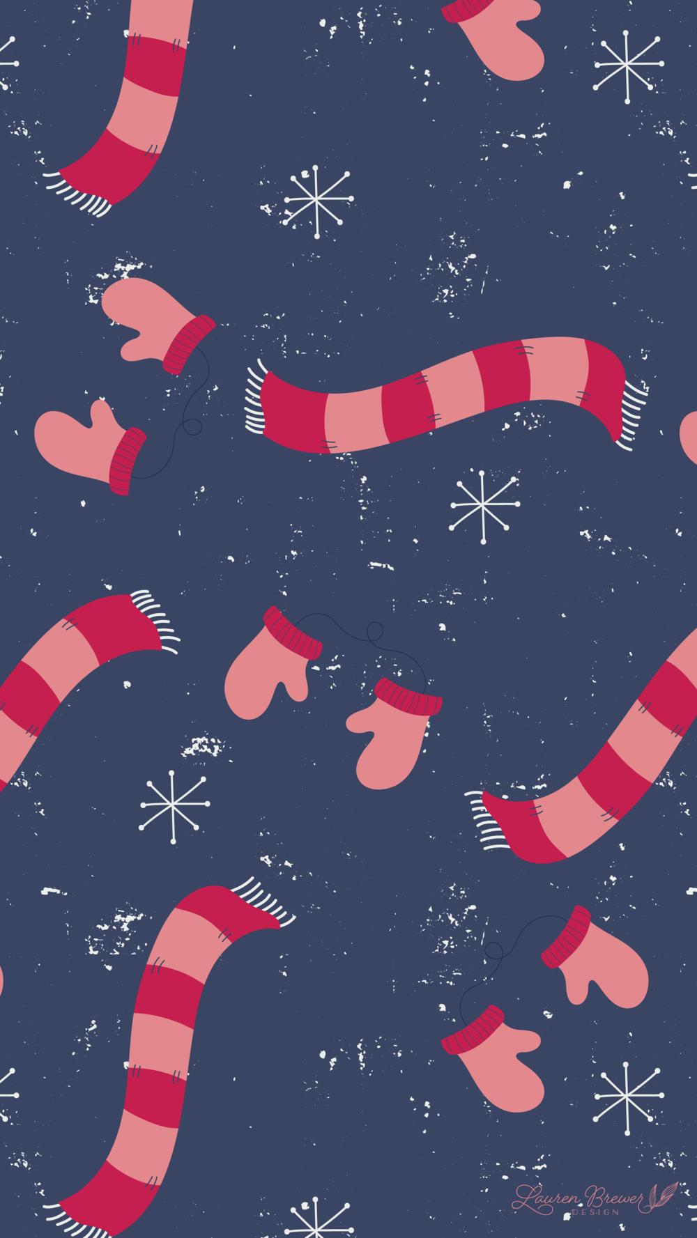 LBD December Mobile Wallpaper