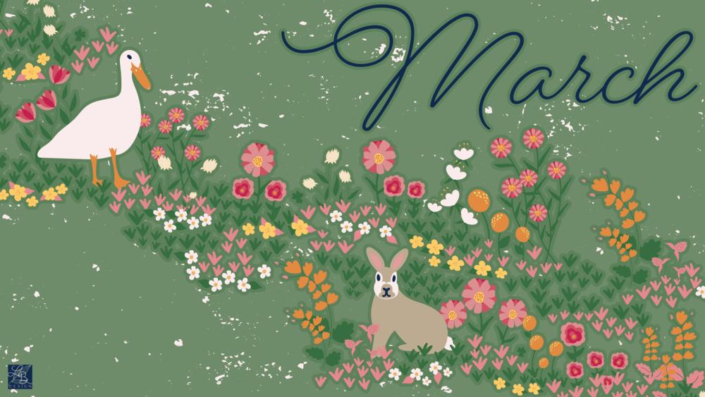 LBD March Desktop Wallpaper