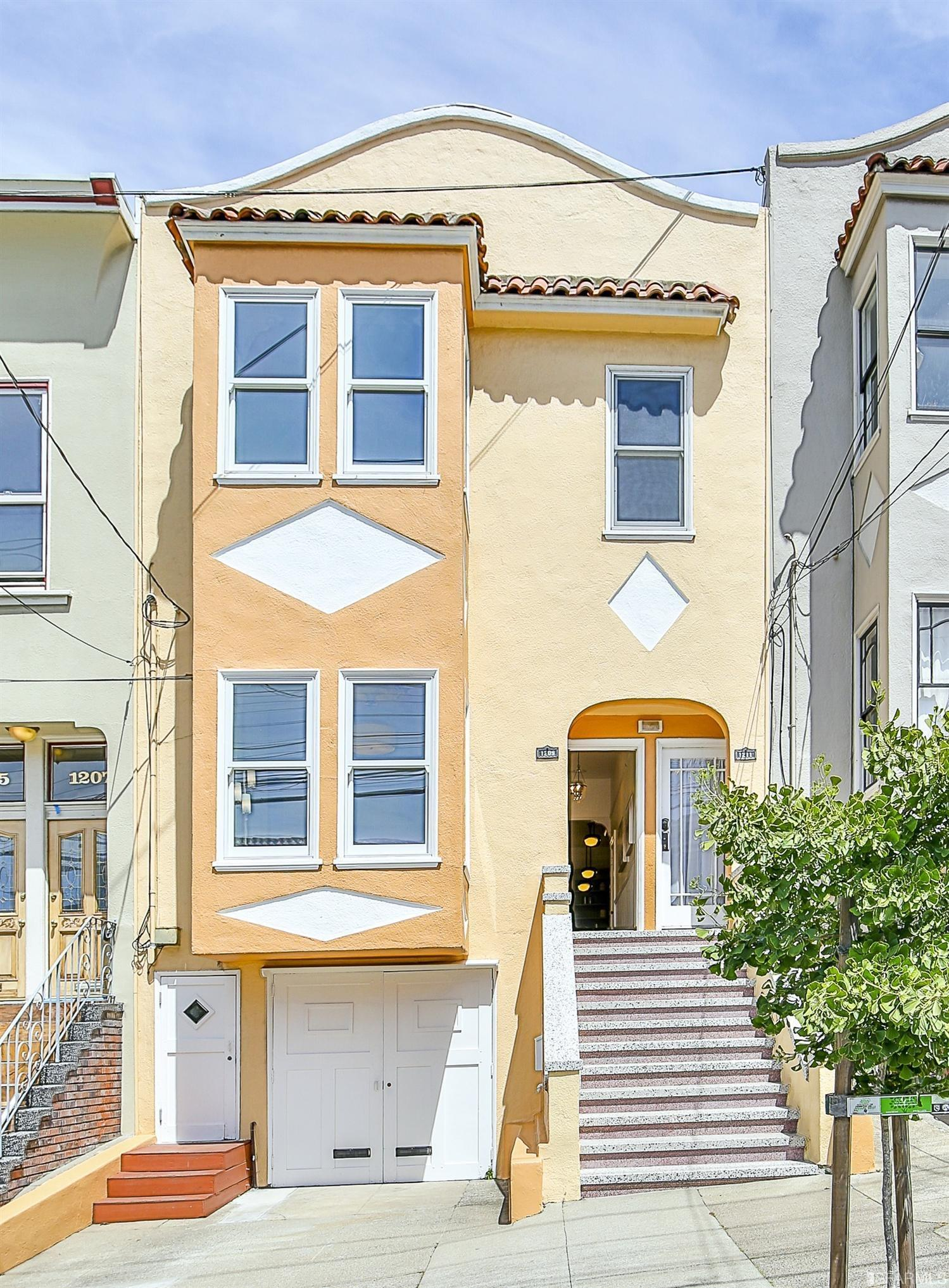 1209 Sanchez Street, San Francisco, listed at $1,095,000