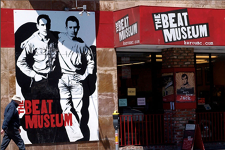 The Beat Museum - In the 1950s, artists, writers, and free spirits migrated to San Francisco and began a movement that was the counterculture of the time. The Beat Generation gave birth to a new classic American literature, including Jack Kerouac's