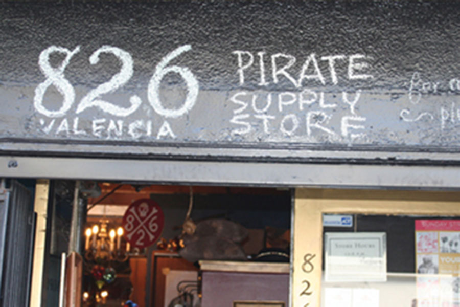 The Pirate Store  - Your one-stop shop for all buccaneer necessities: spyglasses, hand-stitched hook hands, and