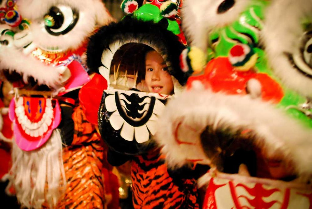 Chinese New Year Parade. Photo by May Wong.