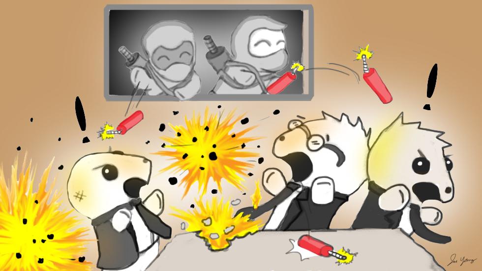 The Ninja Seals disrupt a secret Yakuza meeting!
