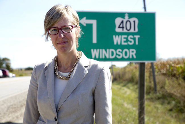 "August 2017  - Alysson forms the  ""Build the Barrier""  grassroots group following the tragic death of two friends in a median crossover collision on Highway 401.  Alysson relentlessly lobbies the provincial government to construct a concrete median barrier along the 118kms of Highway 401 that still lacks one.  In February 2018 Minister of Transportation Kathryn McGarry credits Alysson's efforts while promising a 6-lane expansion plus concrete median barriers are finally coming to Chatham-Kent & Elgin County."