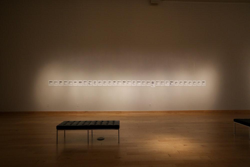 Farewell!    Record Keepers , James Madison University's Duke Hall Gallery, Harrisonburg, Virginia 2018