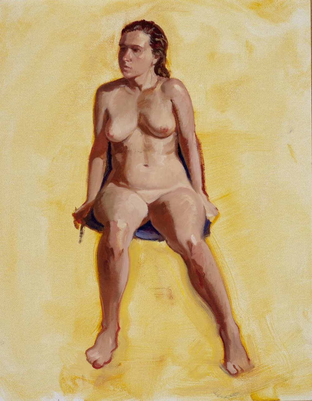 Life Study: Seated Woman