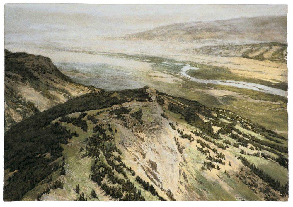 The Snake River (Hazy Day)
