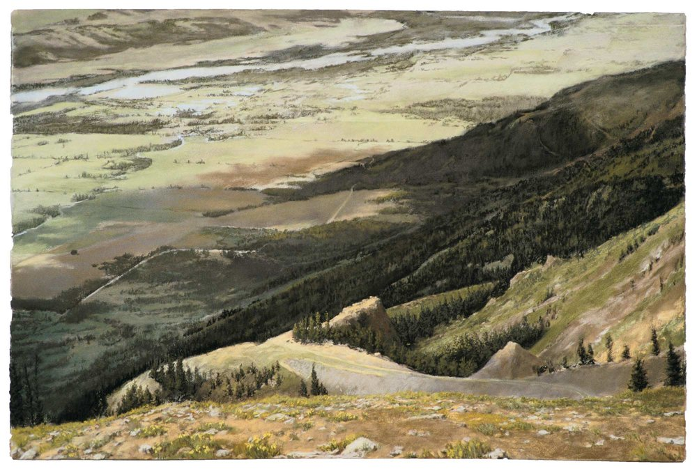 The Snake River Seen from Rendezvous Mountain