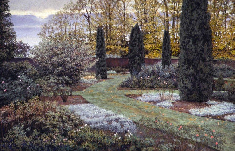 Near The Wall (Castle Howard Rose Garden)
