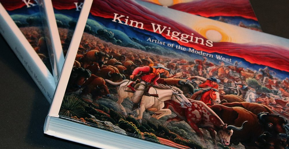 New Book Release:   Join the artist in Santa Fe this summer for the opening of his one-man show and the release of his new book,  Kim Wiggins, Artist of the Modern West .  Friday, August 3rd, 2018, at Manitou Galleries of Santa Fe.  (Book signing from 5 pm to 7 pm).