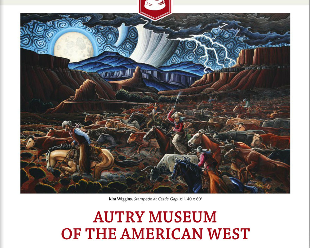 This was my major work for the 2018 Masters of the American West in Los Angeles.  Courtesy Western Art Collector Magazine.