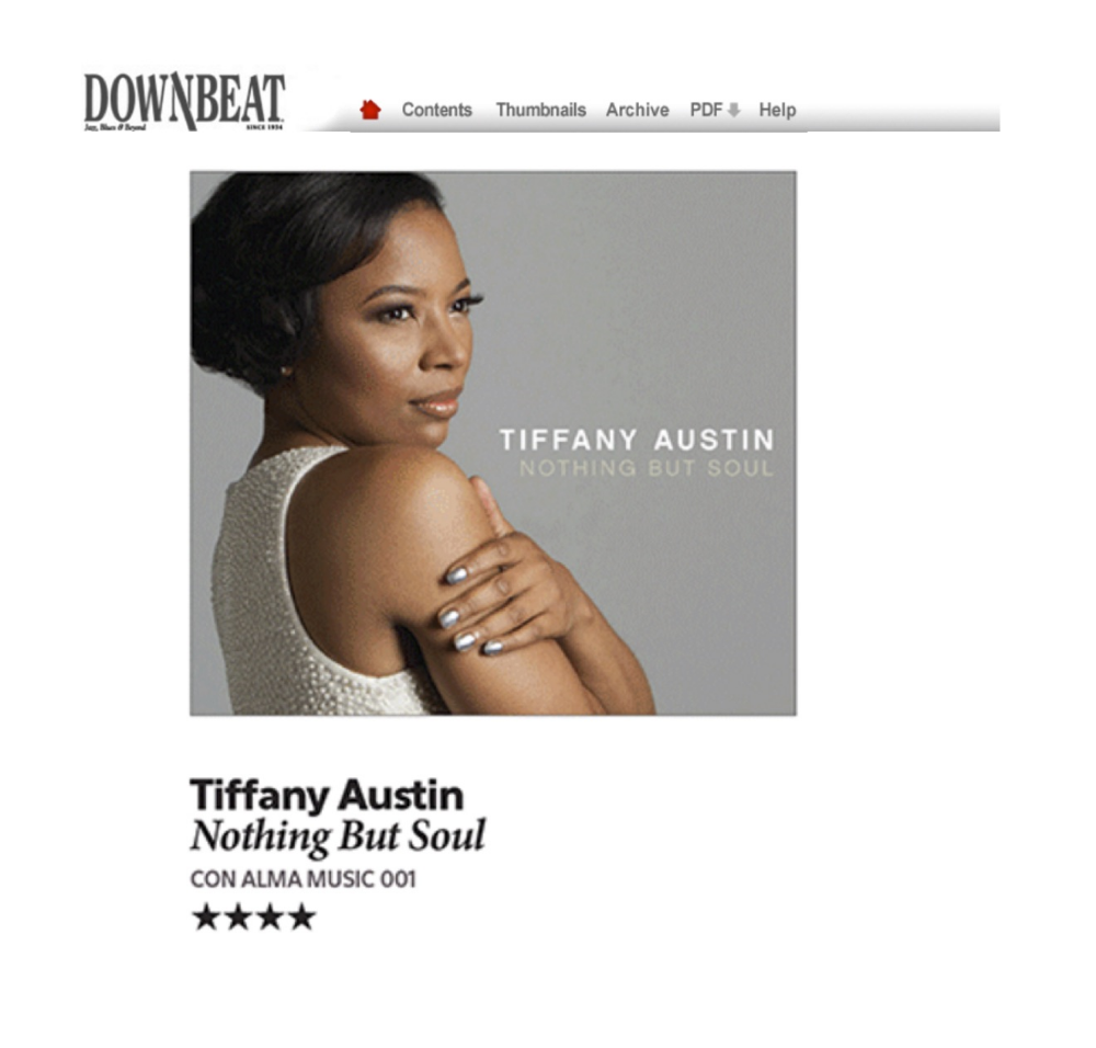 DOWNBEAT MAGAZINE REVIEW (4 STARS)